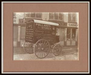 Buckingham built carriage for Pollard stores