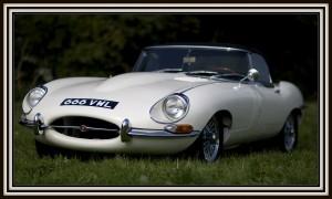 E Type Jaguar finished
