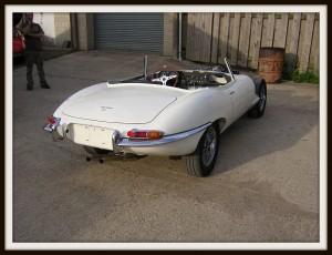 E Type Jaguar first test 3