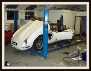 E Type Jaguar re fit
