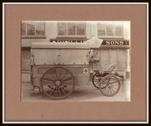 First World War Ambulance
