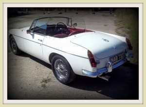 MGB Roadster Back