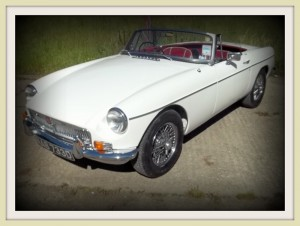 MGB Roadster side