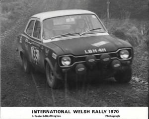 MK1 Escort Rally Car 1970