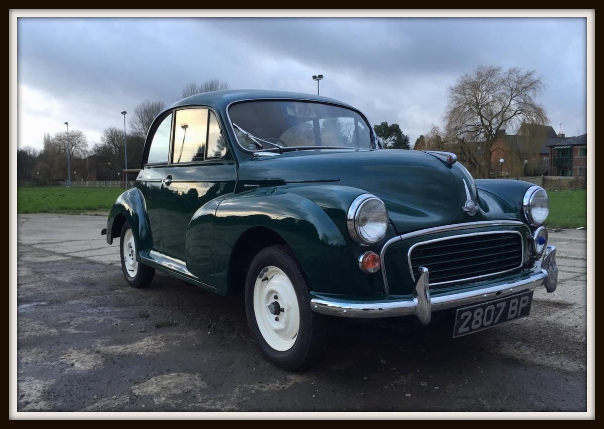 Morris Minor Restoration And Respray Buckingham Classic Car